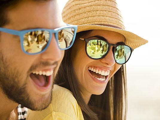 Sonnenbrille nicht vergessen!