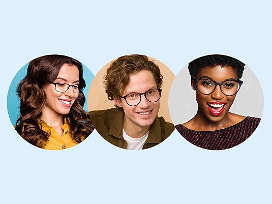 3 Brillen, 3 Situationen