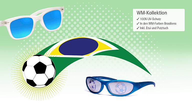 Anpfiff: Brillen und Sonnenbrillen im Brasilien-Style