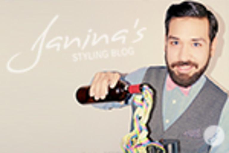 Janina's Styling Tipp: Silvester Hair + Make Up