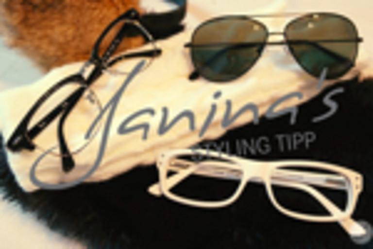 Janina's Styling Tipp: Mit Brille durch den Winter