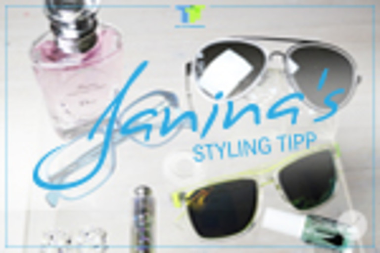 Janina's Styling Tipp: Total Transparency