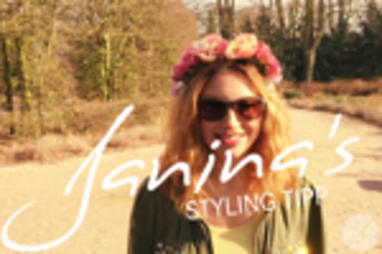 Janina's Styling Tipp: Springtime!