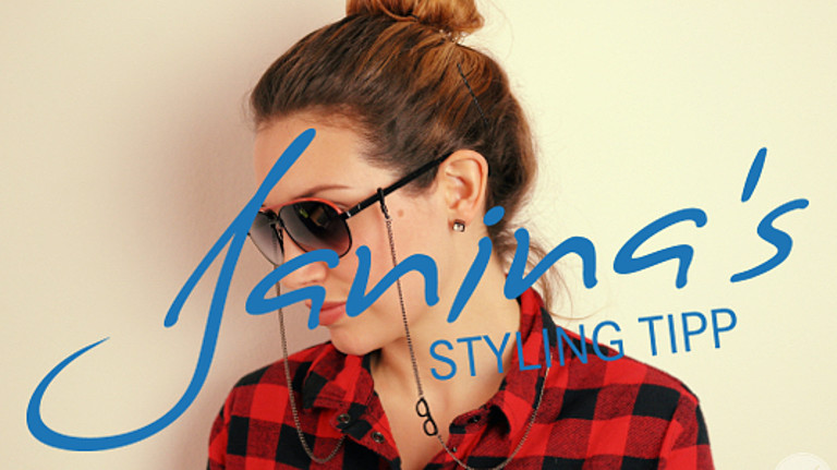 Janina's Styling Tipp: Brillenketten