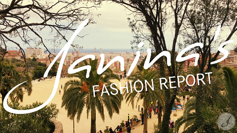 Janina's Fashion Report: Barcelona