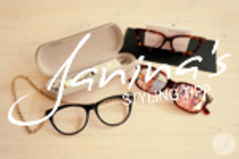 Janina's Styling Tipp: Basteln mit Brillen