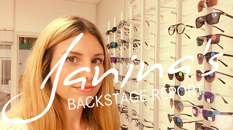 Janina's Backstage Report: Brillenpreview 2016