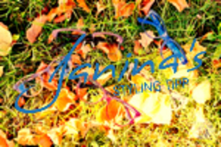 Janina's Styling Tipp: Meine Brillen für den Herbst