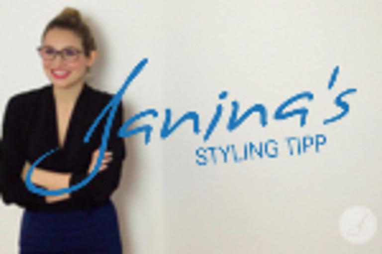 Janina's Styling Tipp: Winterzeit
