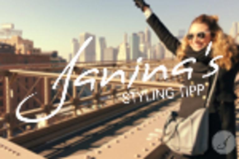 Janina's Styling Tipp: New York City