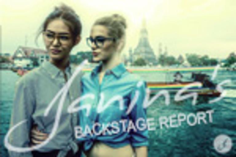Janina's Backstage Report: Shooting Frühjahrsausgabe Eyewear Magazine