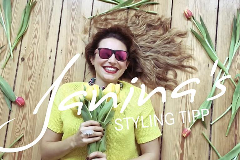 Janina's Styling Tipp: Frühjahrstrends