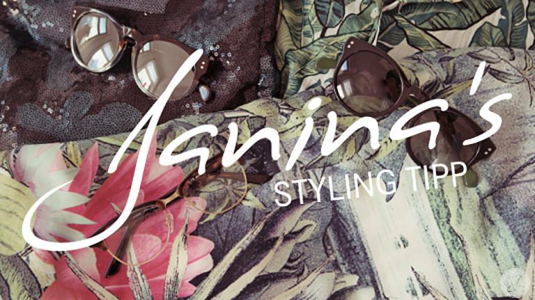Janina's Styling Tipp: Urban Camo