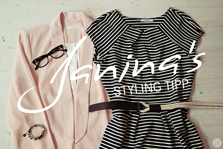 Janina's Styling Tipp: 1 Brille 3 Looks