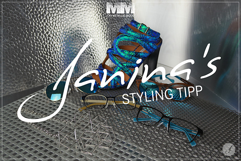 Janina's Styling Tipp: Trendkollektion Metallic Mood