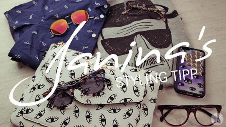 Janina's Styling Tipp: Brillenprints