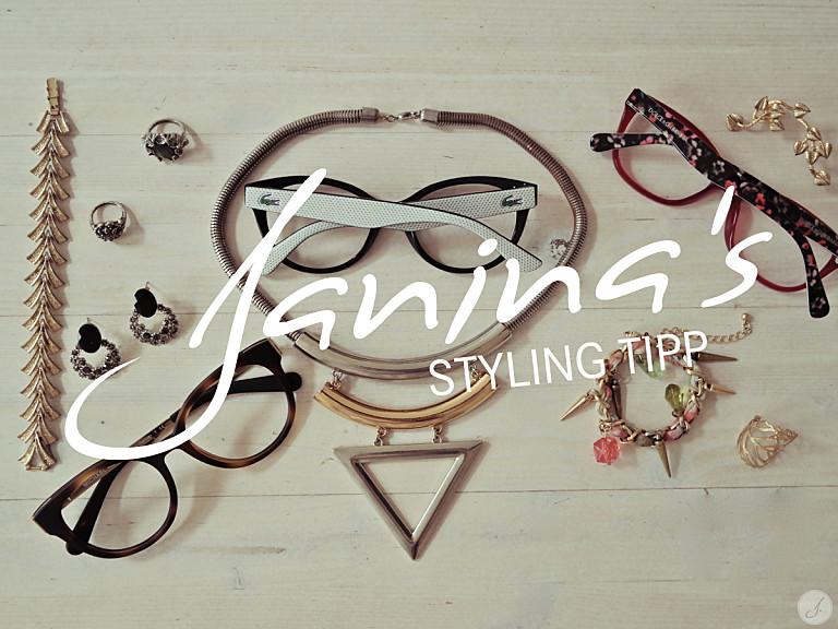 Janina's Styling Tipp: Kleiner Brillenknigge - Accessoires