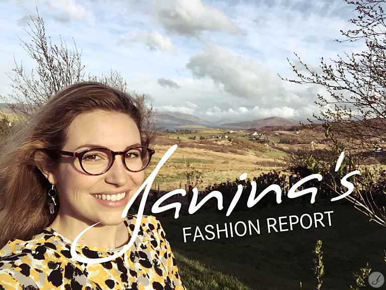 Janina's Fashion Report: Very Scottish!