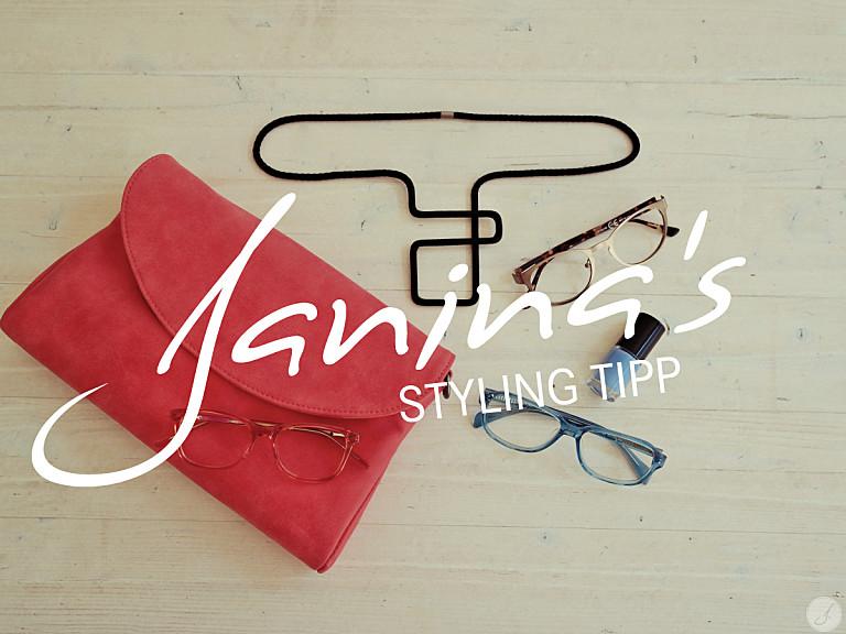 Janina's Styling Tipp: Kleiner Brillenknigge - Farben