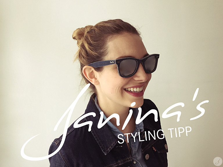 Janina's Styling Tipp: Kleiner Brillenknigge – Material