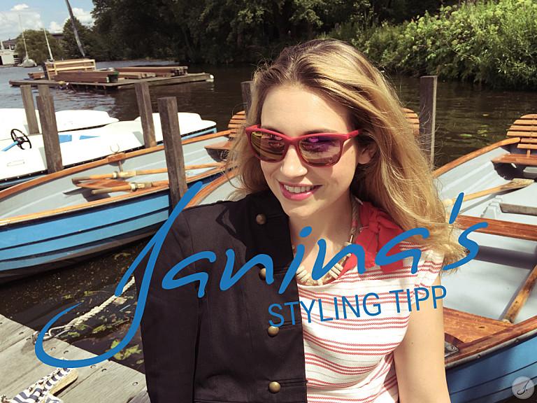Janina's Styling Tipp: Marine Looks