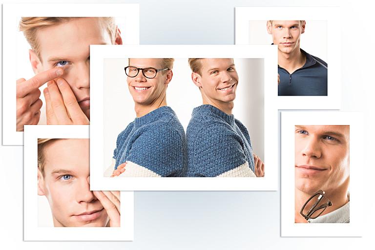 Lensbest berät: Brillentyp oder Kontaktlinsentyp?