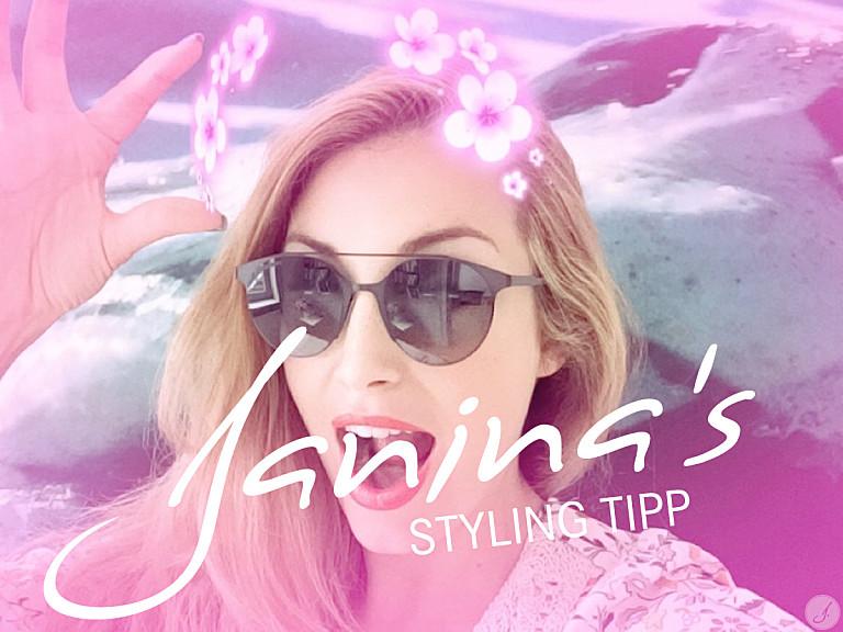 Janina's Styling Tipp: Trend Doppelsteg