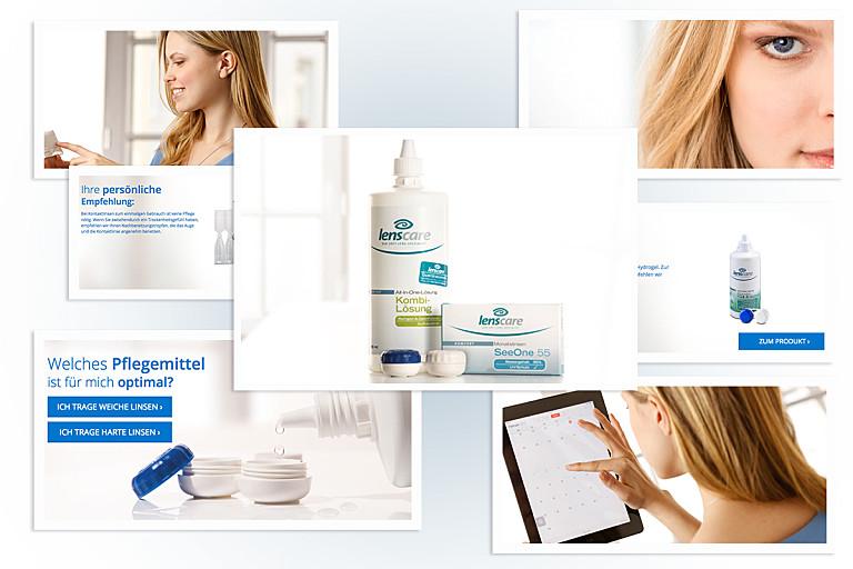 Das optimale Pflegemittel für deine Linse in wenigen Klicks