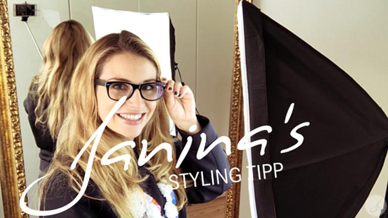 Janina's Styling Tipp: Wie fotografiere ich mich richtig mit Brille?