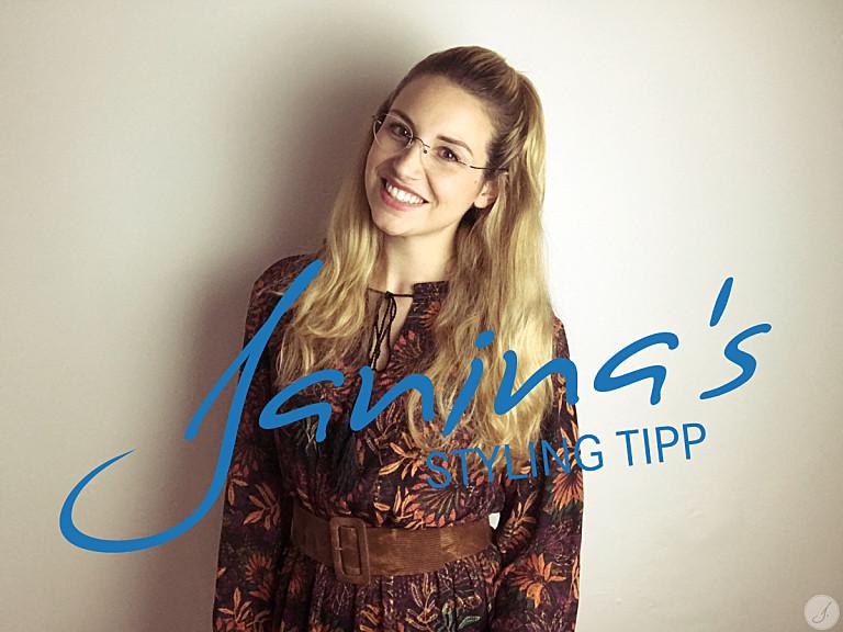 Janina's Styling Tipp: Randlos Brillen