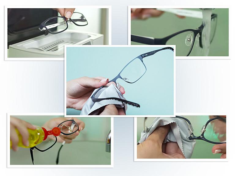 Lensbest berät: So reinige ich meine Brille richtig