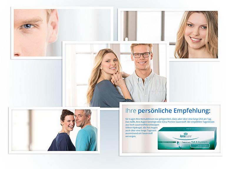Lensbest berät: Welcher Kontaktlinsentyp bin ich?
