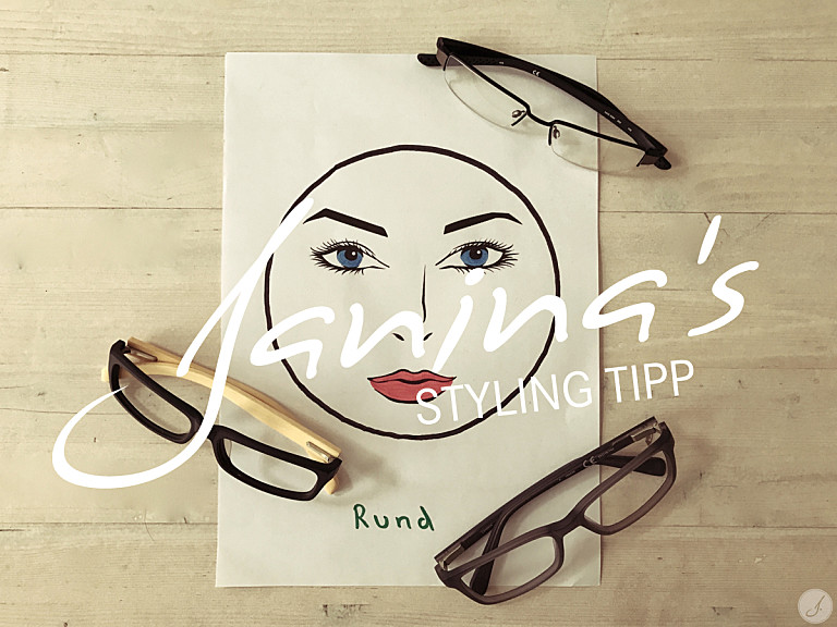 Janinas Styling Tipp: Brillen für runde Gesichter
