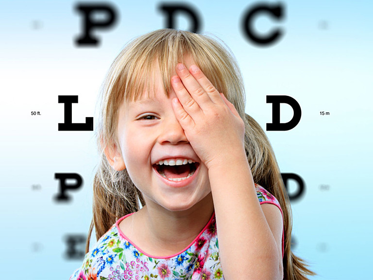 Kontaktlinsen für Kinder