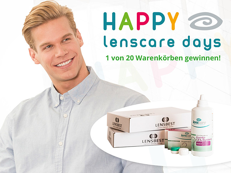 Happy Lenscare Days!