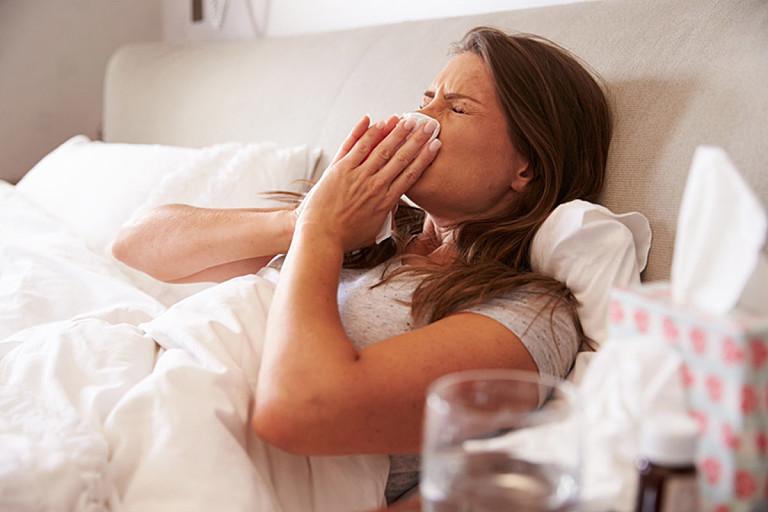 Kontaktlinsen bei Grippe oder Erkältung