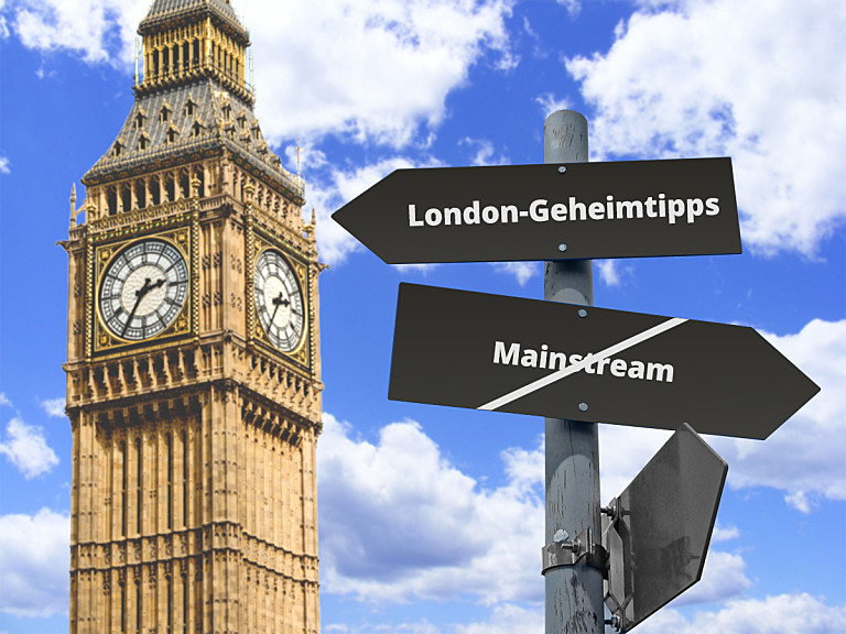 Abseits des Mainstreams durch London