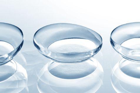 Hydrogel Kontaktlinsen