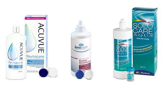 Pflegemittel für konventionelle Kontaktlinsen