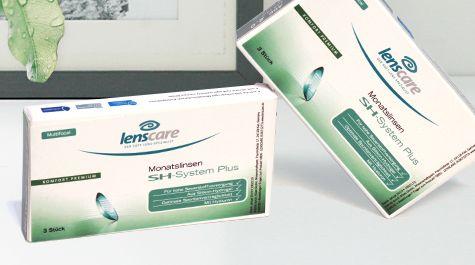 Gleitsicht Kontaktlinsen von Lenscare, der Eigenmarke von Lensbest