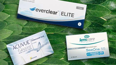 Bei Lensbest finden Sie eine große Auswahl an weichen Kontaktlinsen