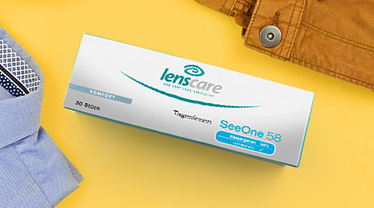 Tageslinsen von Lenscare mit integriertem UV-Schutz