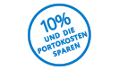 10% sparen
