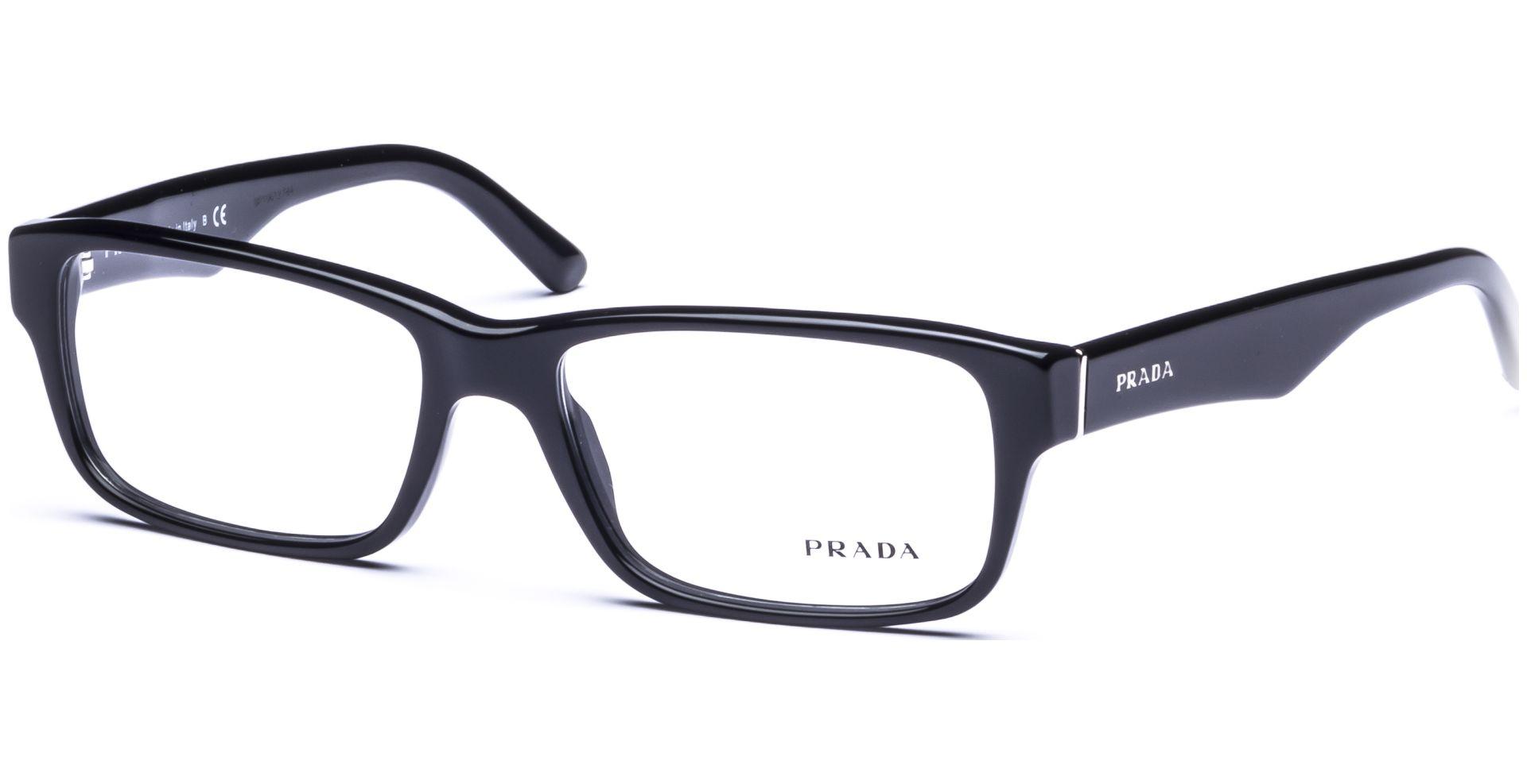 Prada - PR16MV 1AB101 5516 Gloss Black - von Lensbest