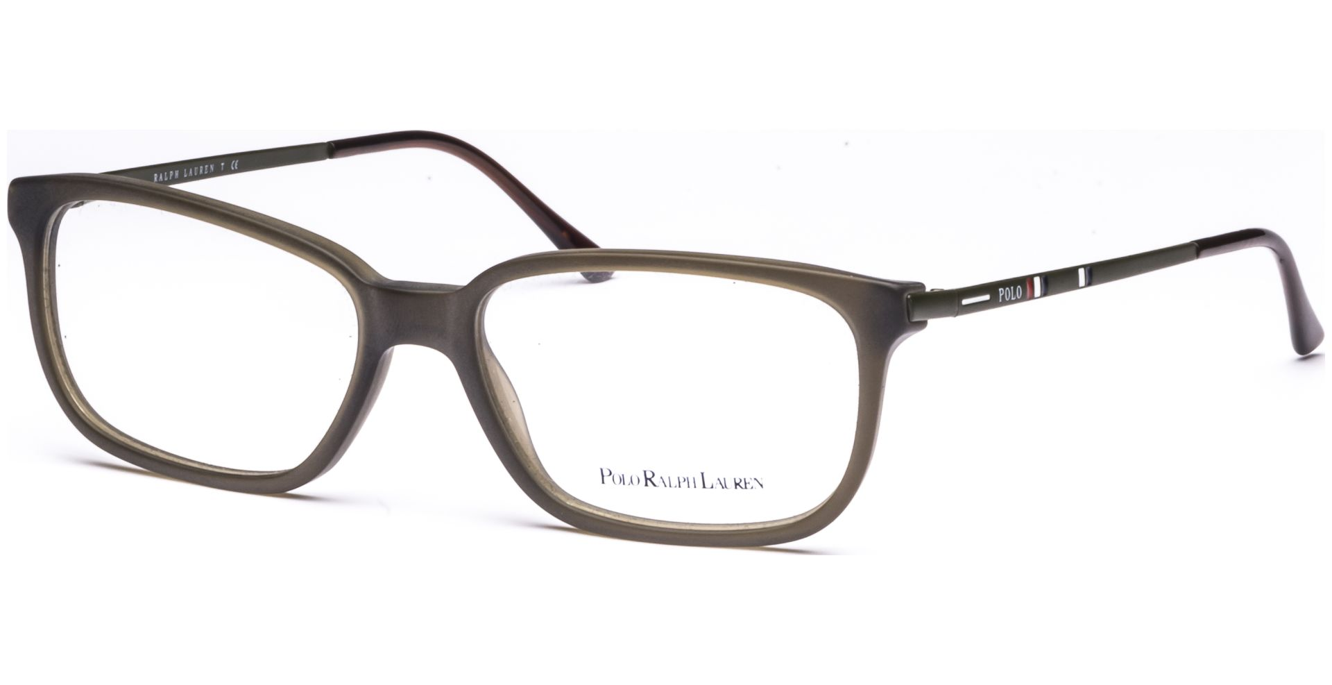 Polo - Ralph Lauren - PH2087 5232 5416 Matte Olive/Green Transparent ...