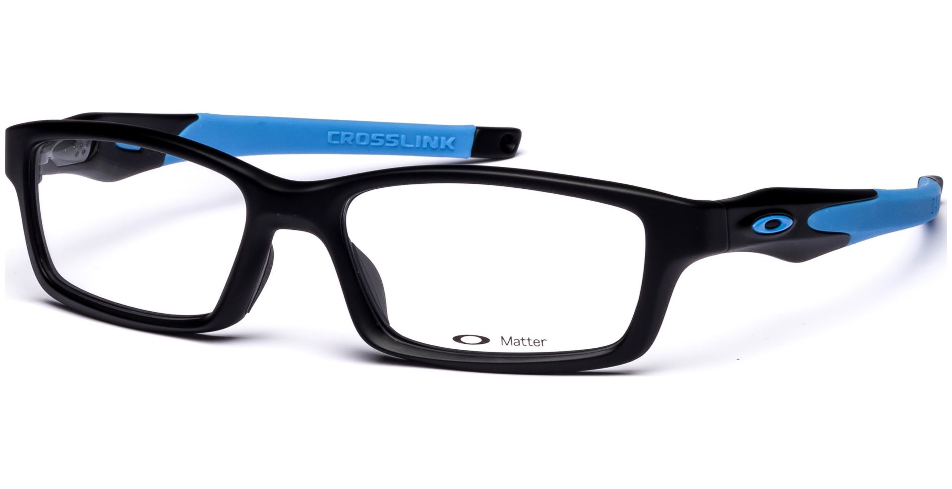 357e493acc2 Oakley - Crosslink OX8027 802701 5317 Satin Black Sky Blue - von ...