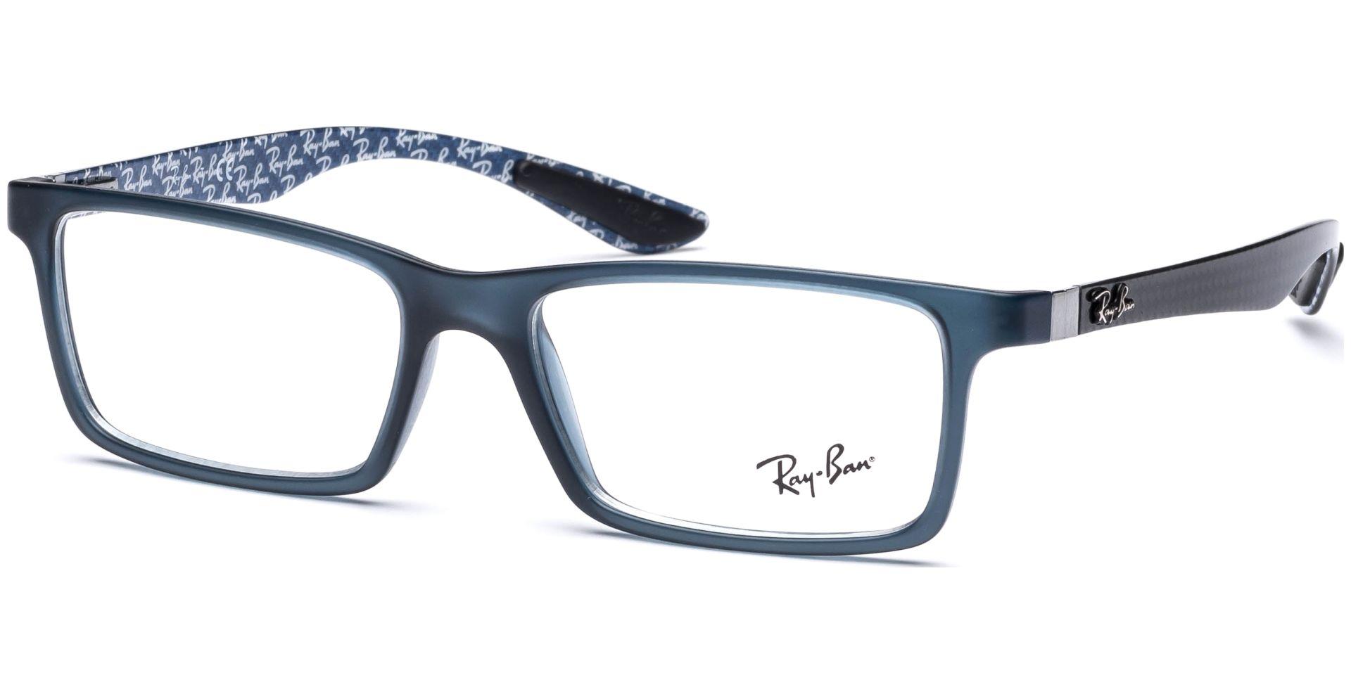 ray ban brille innen blau