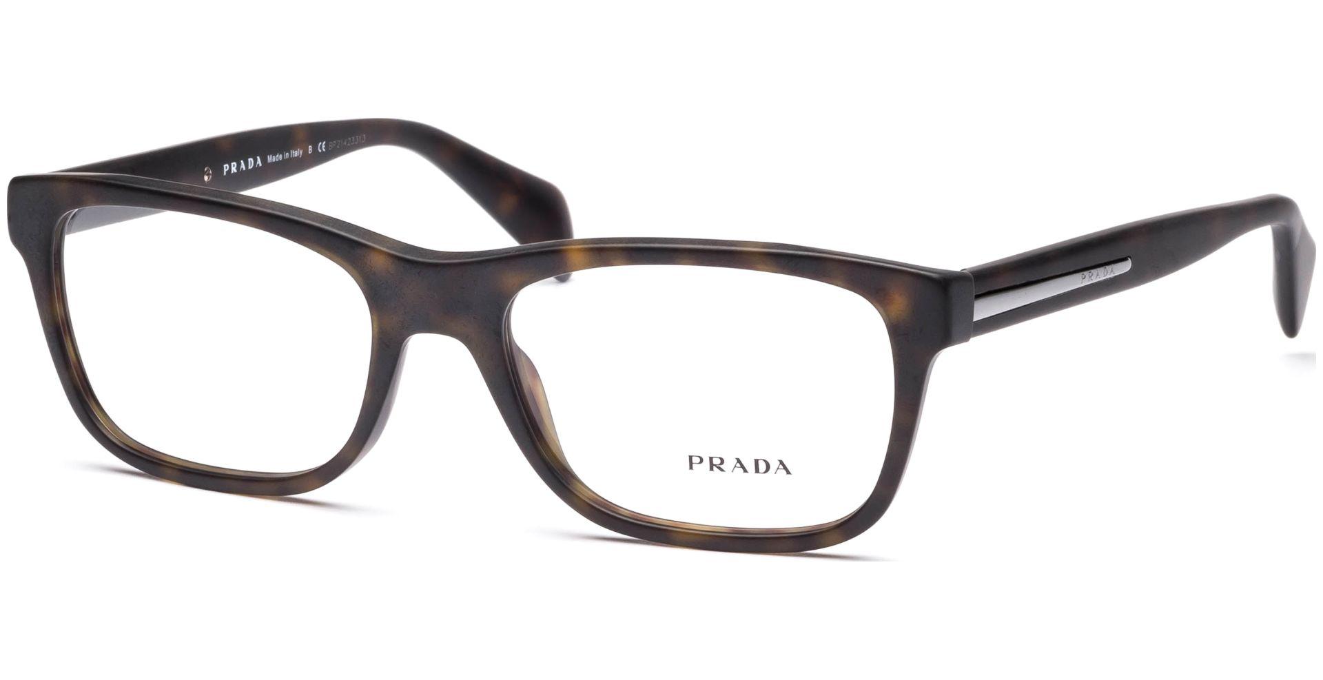 Prada - PR19PV HAQ1O1 5518 Matte Havana - von Lensbest