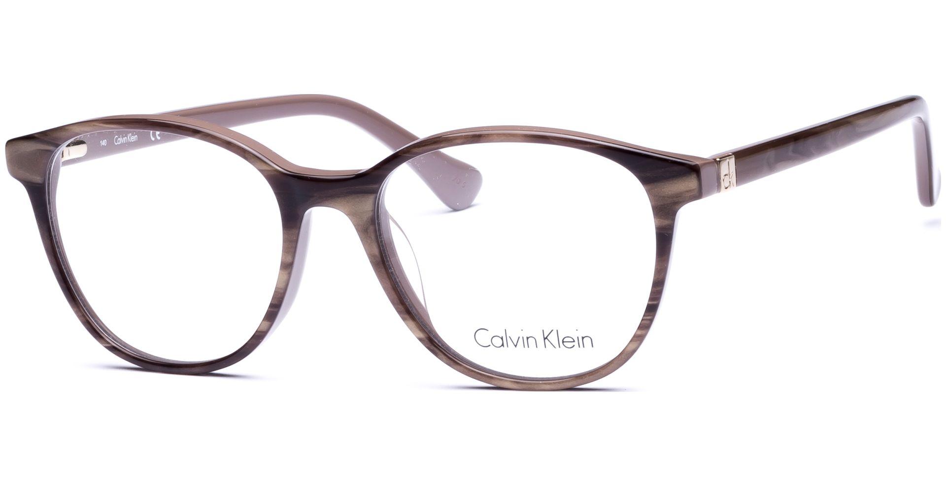 ck Calvin Klein - CK Platinum ck5884 240 5217 STRIPED LIGHT BROWN ...