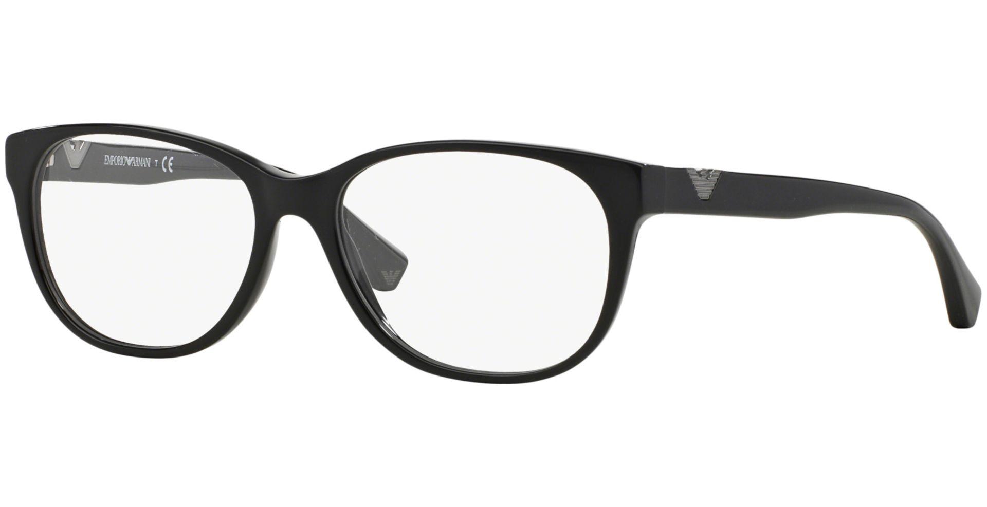 Emporio Armani - EA3039 5017 5416 Black - von Lensbest